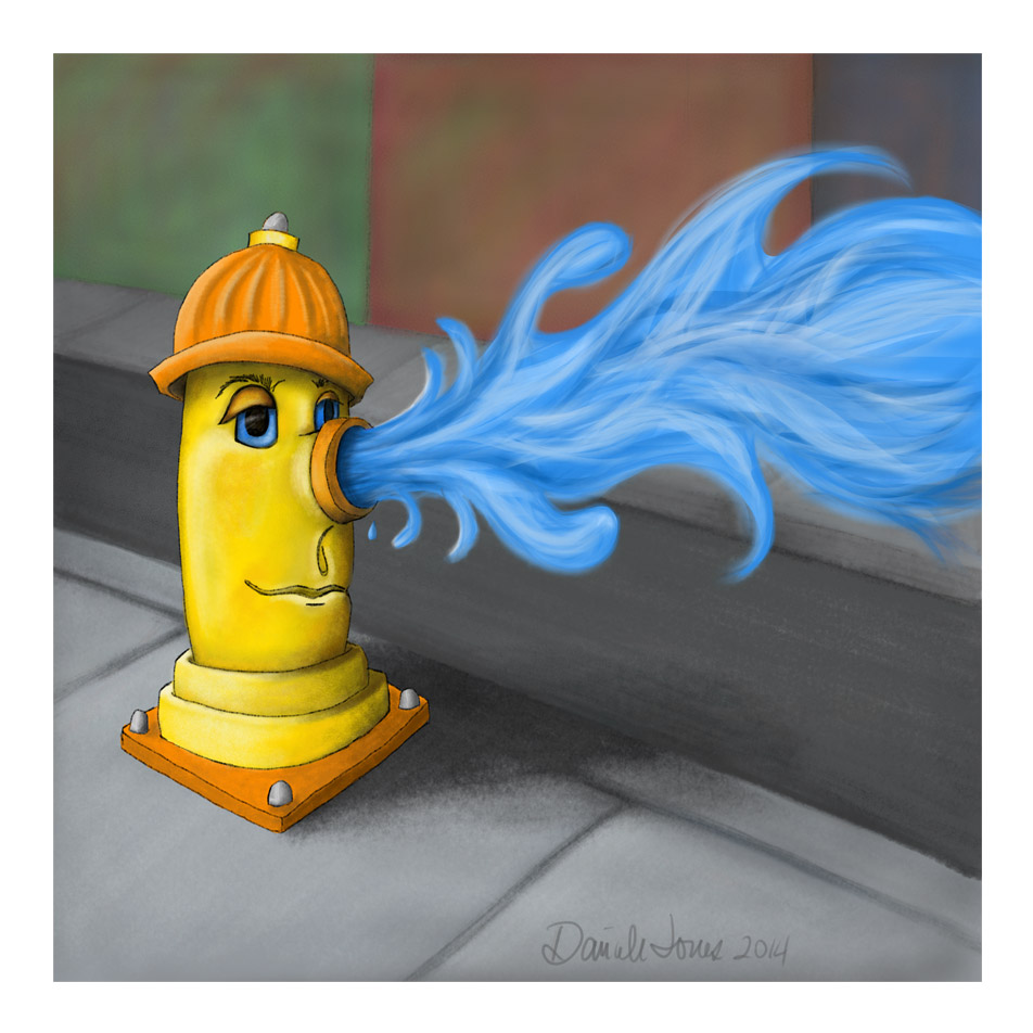 Hydrant Illustration