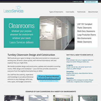 Website Design for Lasco Services